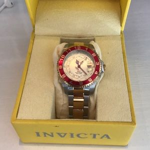 Accessories - Invicta two tone watch